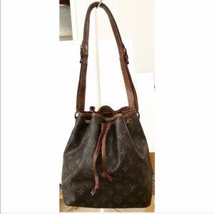 💯Authentic Louis Vuitton Noe Shoulder Tote Bag